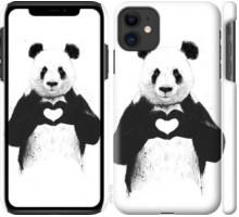 Чехол All you need is love для iPhone 11
