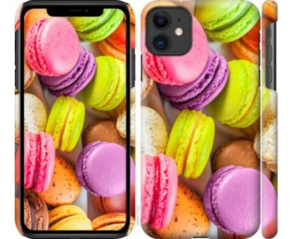 Чехол Макаруны для iPhone 11