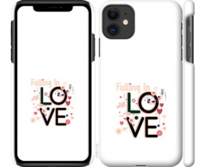 Чехол falling in love для iPhone 11