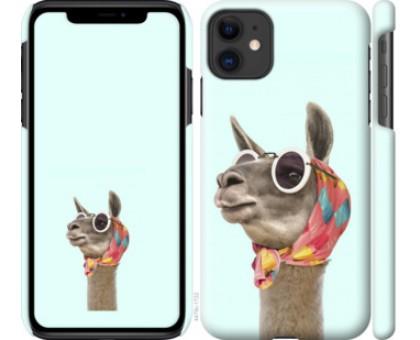 Чехол Модная лама для iPhone 11