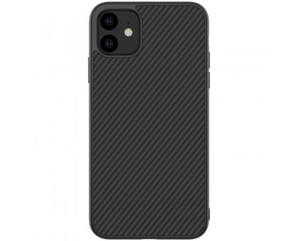 "Карбоновая накладка Nillkin Synthetic Fiber series для Apple iPhone 11 (6.1"")"