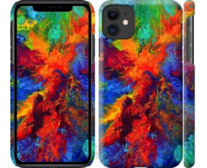 Чехол Акварель на холсте для iPhone 11
