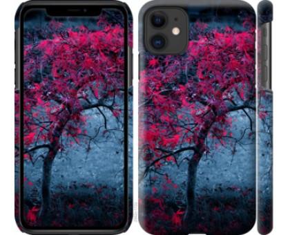 Чехол Дерево с яркими листьями для iPhone 11
