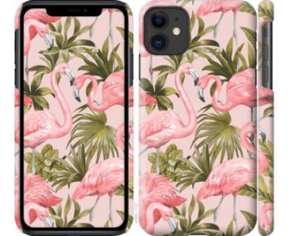 Чехол фламинго 2 для iPhone 11