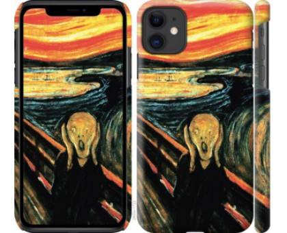 Чехол Крик Мунка для iPhone 11