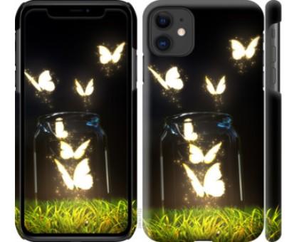 Чехол Бабочки для iPhone 11
