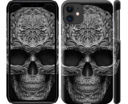 Чехол skull-ornament для iPhone 11