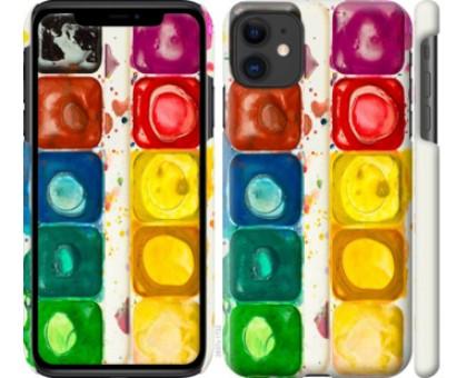 Чехол Палитра красок для iPhone 11