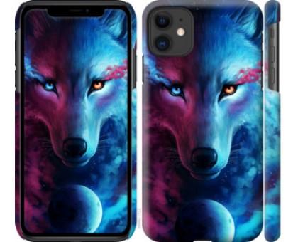 Чехол Арт-волк для iPhone 11