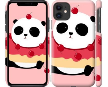 Чехол Панда с пончиком для iPhone 11
