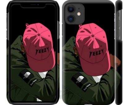Чехол logo de yeezy для iPhone 11