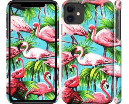Чехол Tropical background для iPhone 11