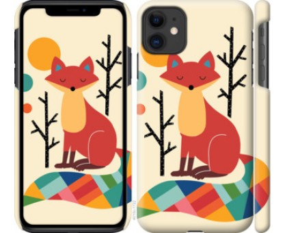 Чехол Rainbow fox для iPhone 11