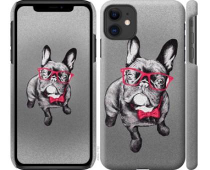 Чехол Умный бульдог для iPhone 11