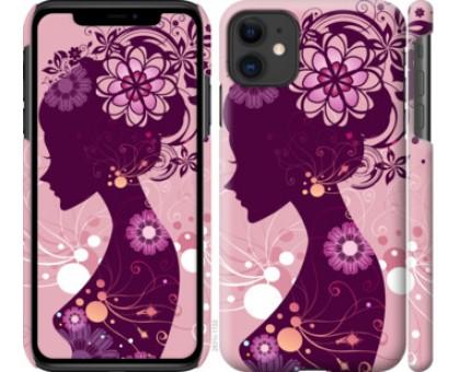 Чехол Силуэт девушки для iPhone 11