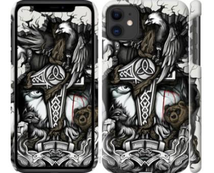 Чехол Тату Викинг для iPhone 11