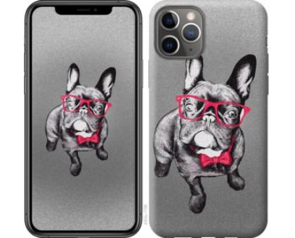 Чехол Умный бульдог для iPhone 11 Pro