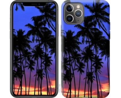 Чехол Пальмы для iPhone 11 Pro