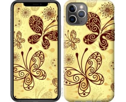 Чехол Красивые бабочки для iPhone 11 Pro