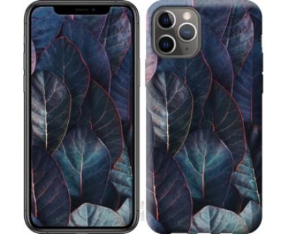Чехол Листья v3 для iPhone 11 Pro