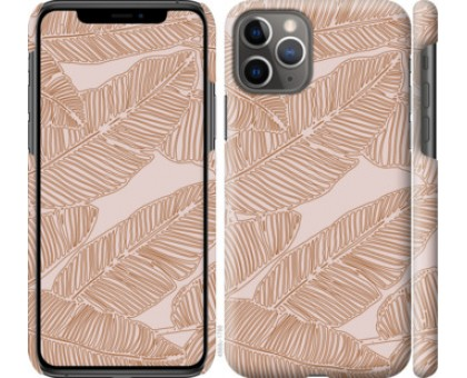 Чехол Листья банана для iPhone 11 Pro