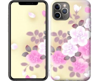 Чехол Японские цветы для iPhone 11 Pro