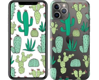 Чехол кактусы 2 для iPhone 11 Pro