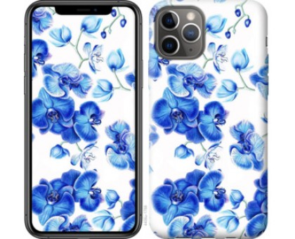 Чехол Голубые орхидеи для iPhone 11 Pro