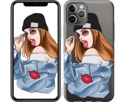 Чехол Девушка v3 для iPhone 11 Pro