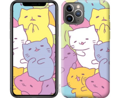Чехол Котики для iPhone 11 Pro