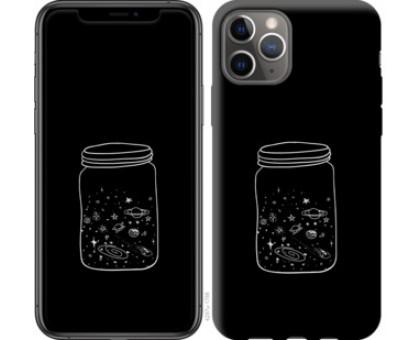 Чехол Космос в банке для iPhone 11 Pro