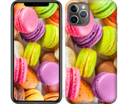 Чехол Макаруны для iPhone 11 Pro