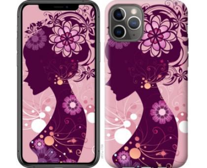 Чехол Силуэт девушки для iPhone 11 Pro