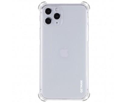 TPU чехол GETMAN Ease logo усиленные углы для Apple iPhone 11 Pro (5.8)