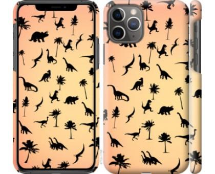 Чехол Динозаврики 1 для iPhone 11 Pro
