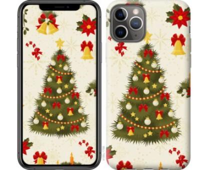 Чехол Новогодняя елка для iPhone 11 Pro
