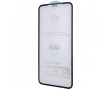 Защитное стекло 5D Hard (full glue) (тех.пак) для Apple iPhone 11 Pro (5.8) / X / XS