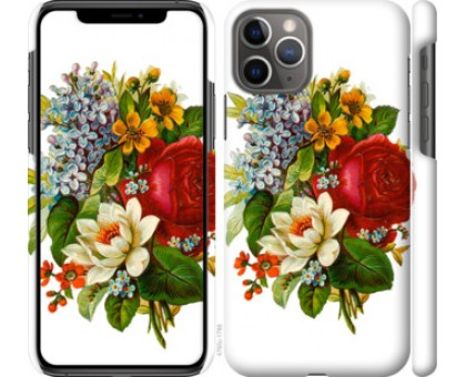 Чехол Цветы 2 для iPhone 11 Pro