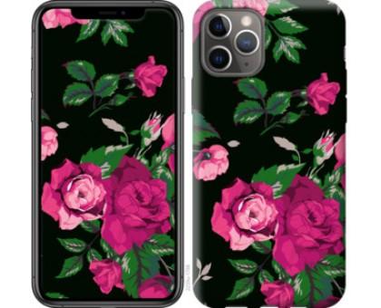 Чехол Розы на черном фоне для iPhone 11 Pro