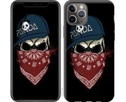 Чехол Череп в кепке для iPhone 11 Pro