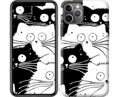 Чехол Коты v2 для iPhone 11 Pro
