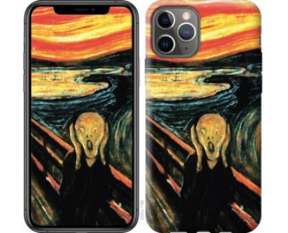 Чехол Крик Мунка для iPhone 11 Pro