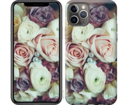 Чехол Букет роз для iPhone 11 Pro