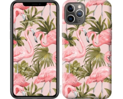 Чехол фламинго 2 для iPhone 11 Pro
