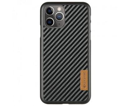 Карбоновая накладка G-Case Dark series для Apple iPhone 11 Pro (5.8)