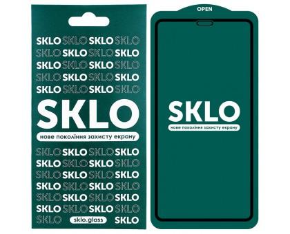 Защитное стекло SKLO 5D (full glue) для Apple iPhone 11 Pro (5.8) / X / XS