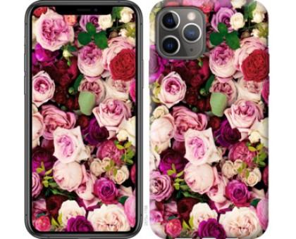 Чехол Розы и пионы для iPhone 11 Pro