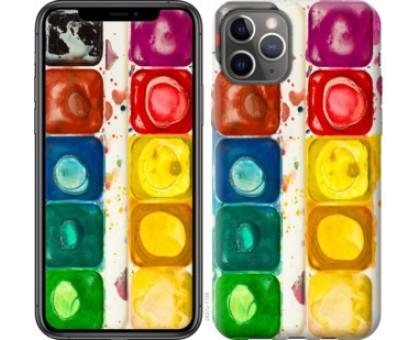 Чехол Палитра красок для iPhone 11 Pro