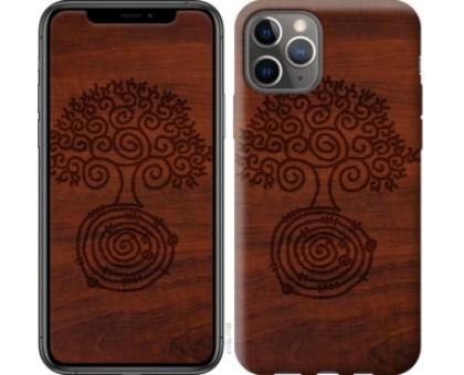 Чехол Узор дерева для iPhone 11 Pro