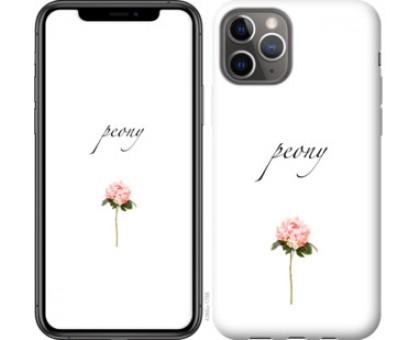 Чехол Пион для iPhone 11 Pro